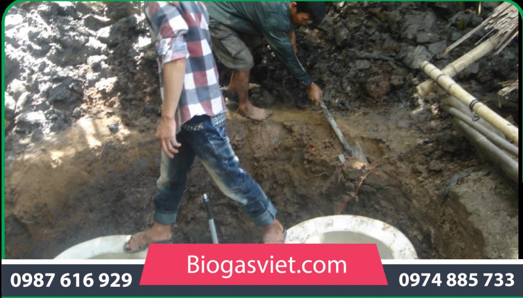 giá xây hầm biogas