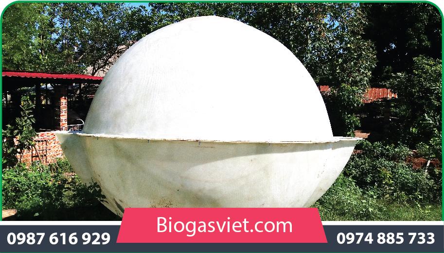 hầm biogas composite 2.90m cải tiến bvc giá rẻ