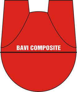 màu đỏ của hầm composite