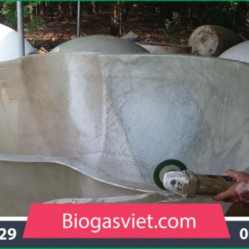 Hầm ủ biogas composite