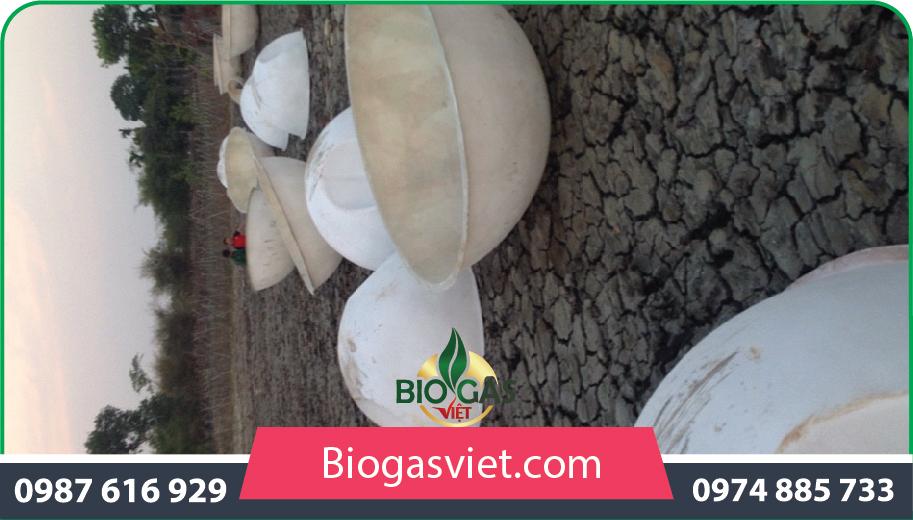 xây dựng hầm nhựa biogas composite chi phí thấp