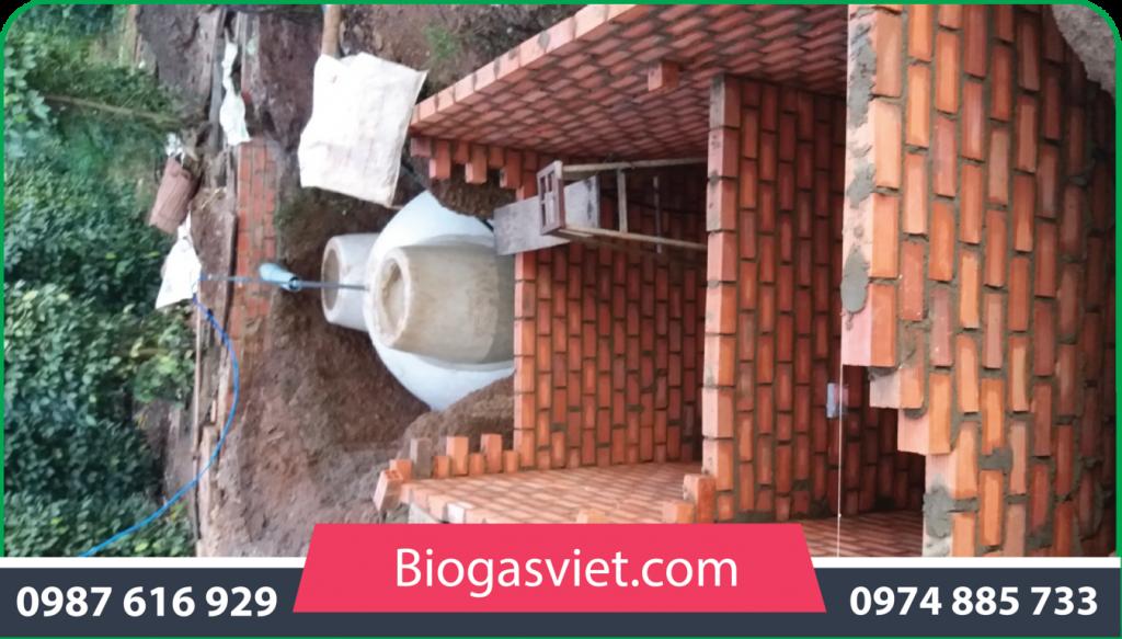 ưu điểm của hầm biogas composite