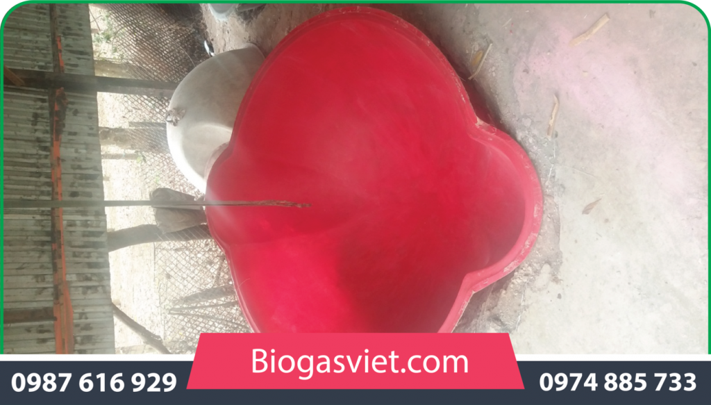 xây dựng hầm biogas composite cải tiến bvc giá rẻ