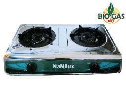 bếp ga đôi biogas