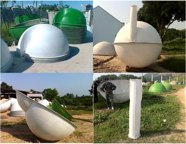 biogas nhựa