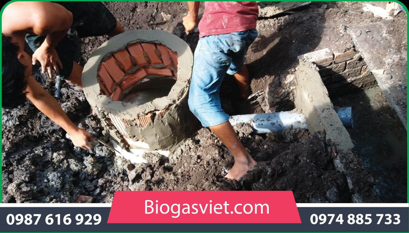 dịch vụ làm hầm biogas
