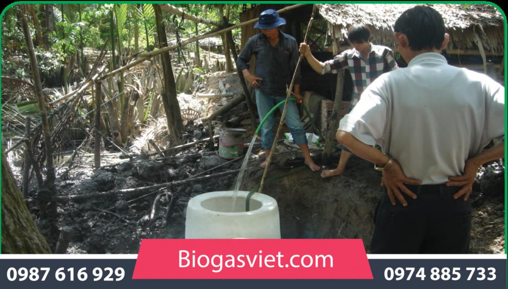 giá hầm biogas composite