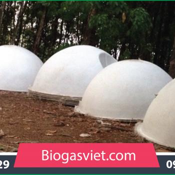 Hầm biogas đường kính 2.40 m mẫu thông thường