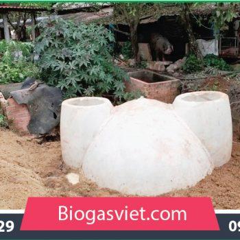 hầm biogas composite hệ cải tiến bvc giá rẻ