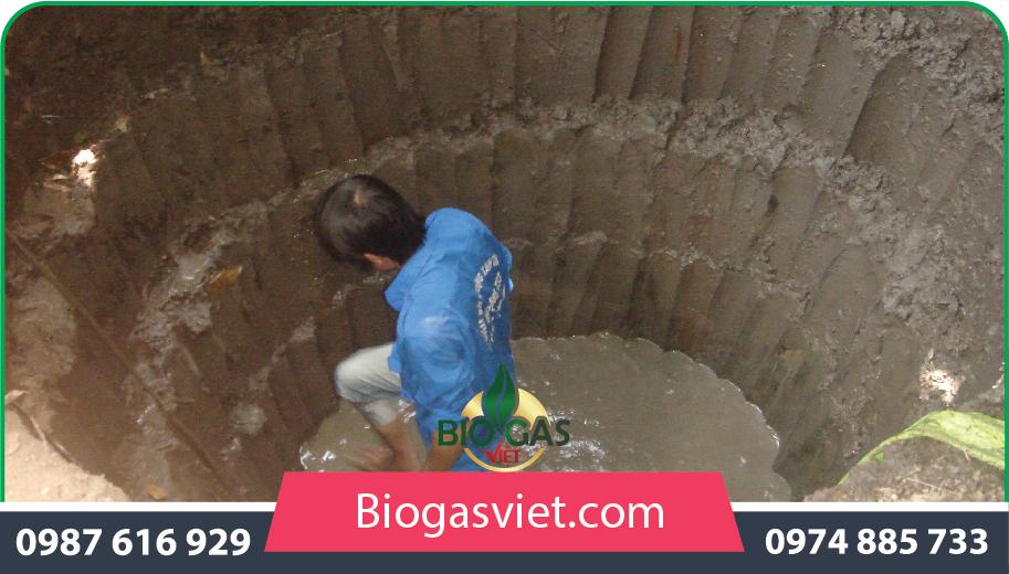hố hầm biogas composite