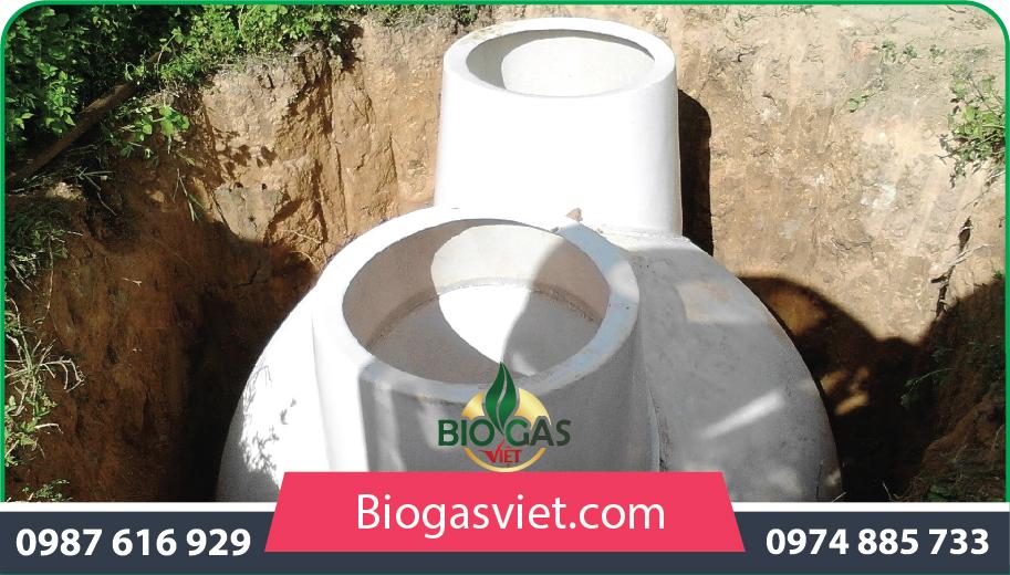 hầm khí biogas nhựa composite