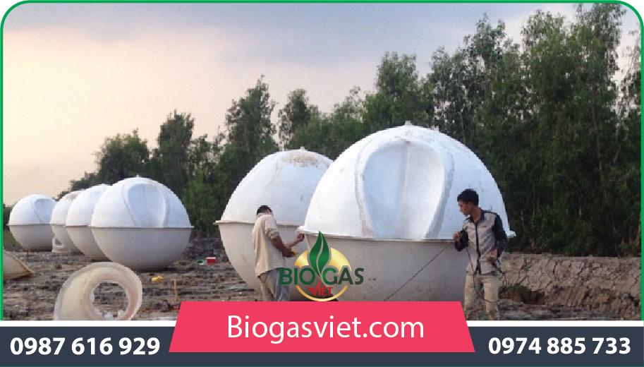 hầm ủ biogas nhựa composite