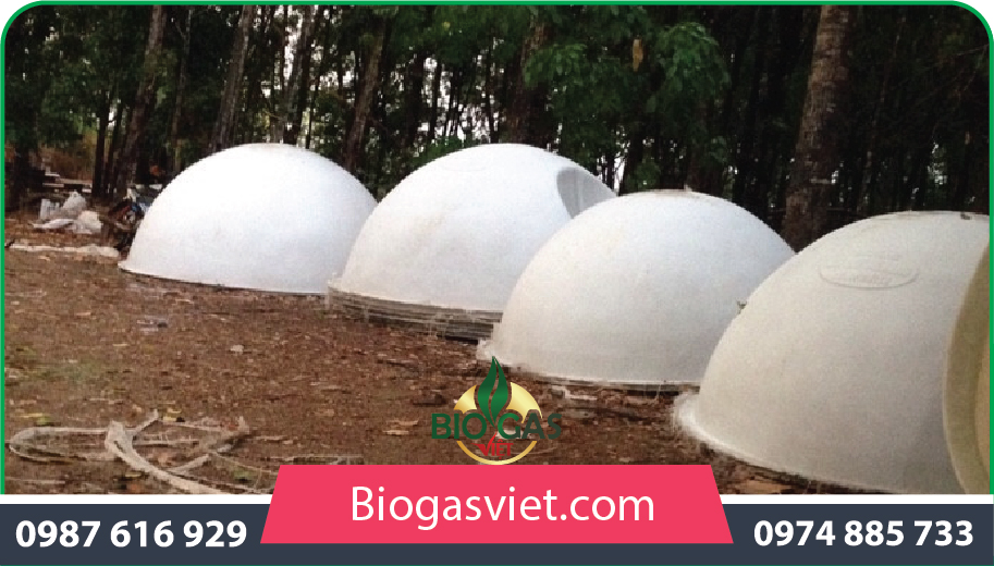 xây dựng hầm biogas composite
