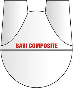 màu trắng của hầm composite