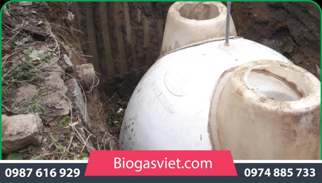 bán hầm biogas composite