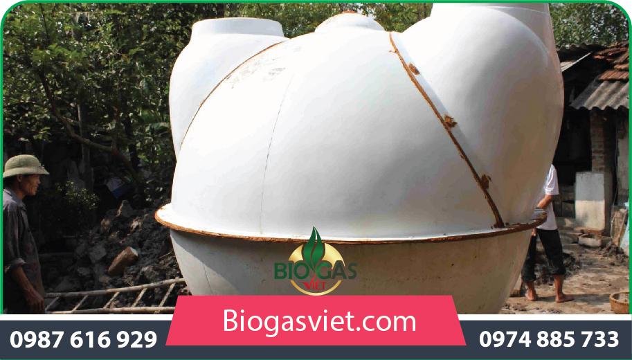 xây dựng hầm khí biogas giá rẻ