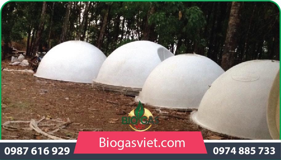thi công hầm biosgas cải tiến
