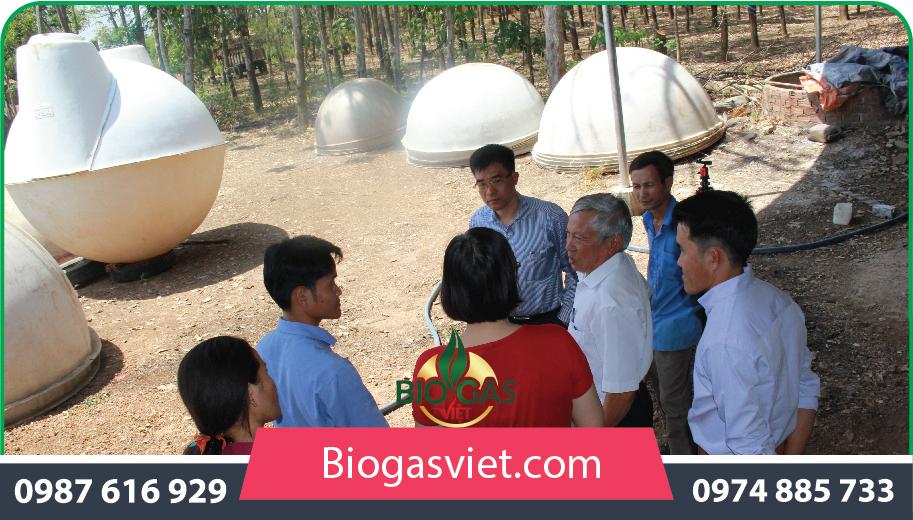 tư vấn xây dựng hầm biogas