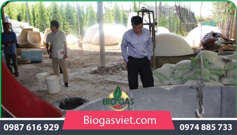 xây dựng hầm biogas tiện lợi