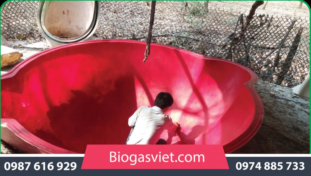 biogas cải tiến bvc