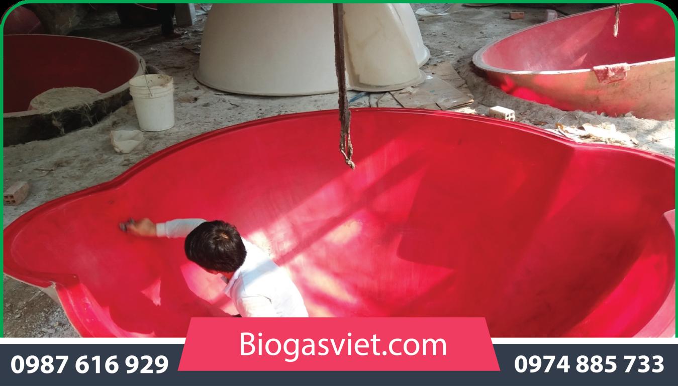 hầm ủ biogas cải tiến chi phí thấp