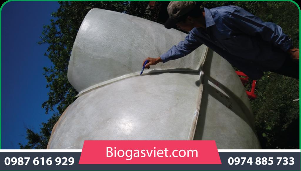hầm ủ biogas giá rẻ
