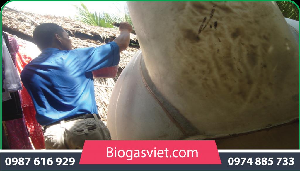 làm hầm biogas