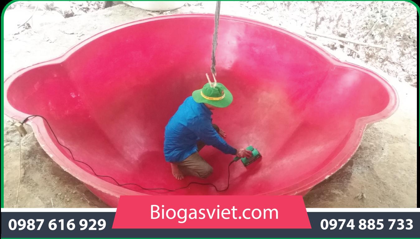hầm biogas composite giá bao nhiêu