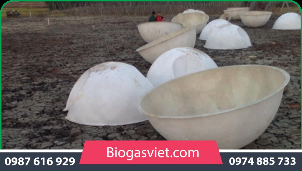 hầm biogas nhựa