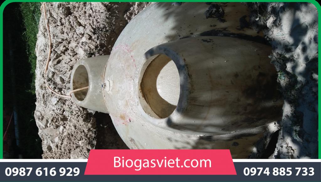 tư vấn xây dựng hầm bể biogas composite cải tiến