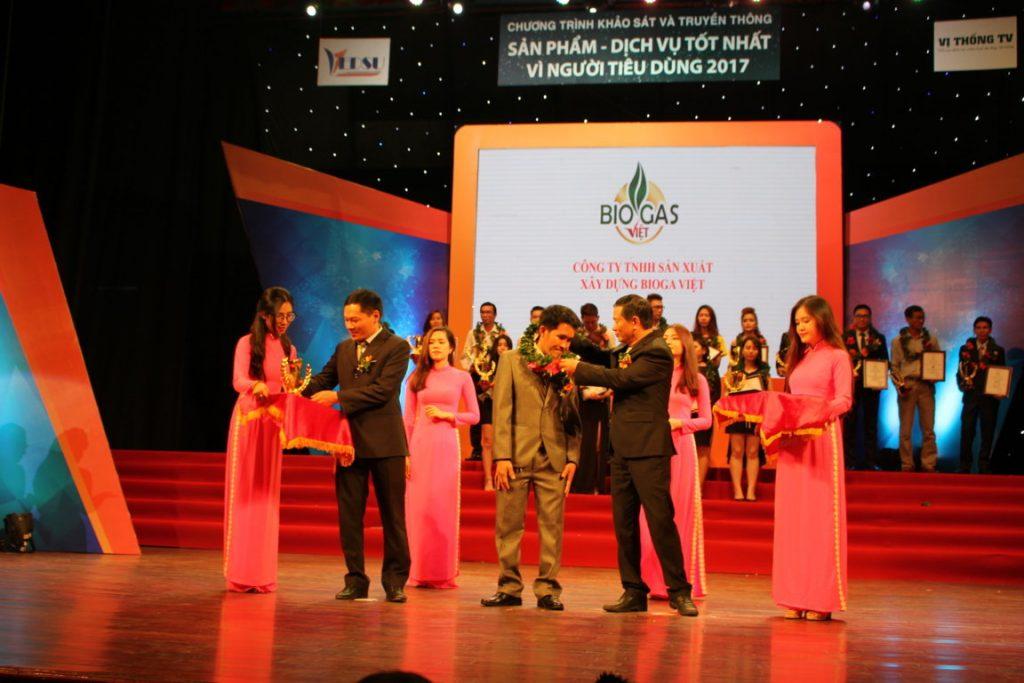 giải thưởng biogas việt 2017