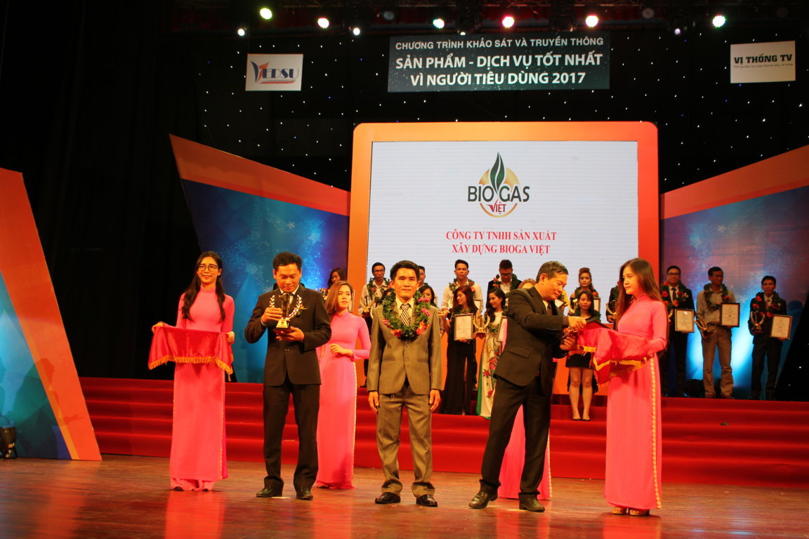 giải thưởng công ty biogas việt 2017