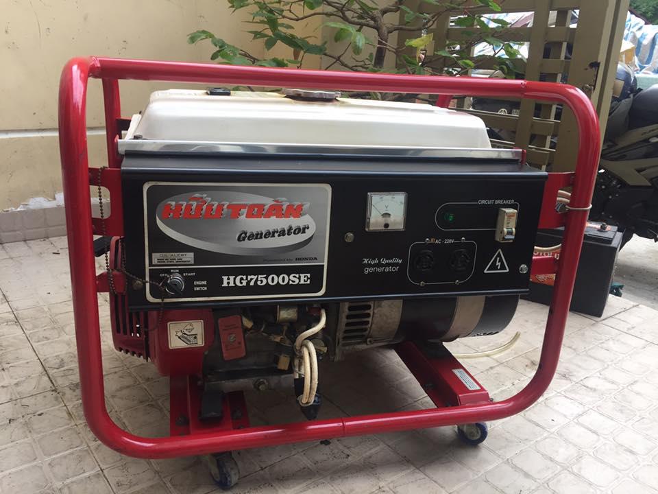 máy phát điện hầm biogas