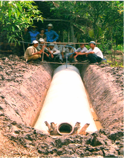 tui ủ khí biogas
