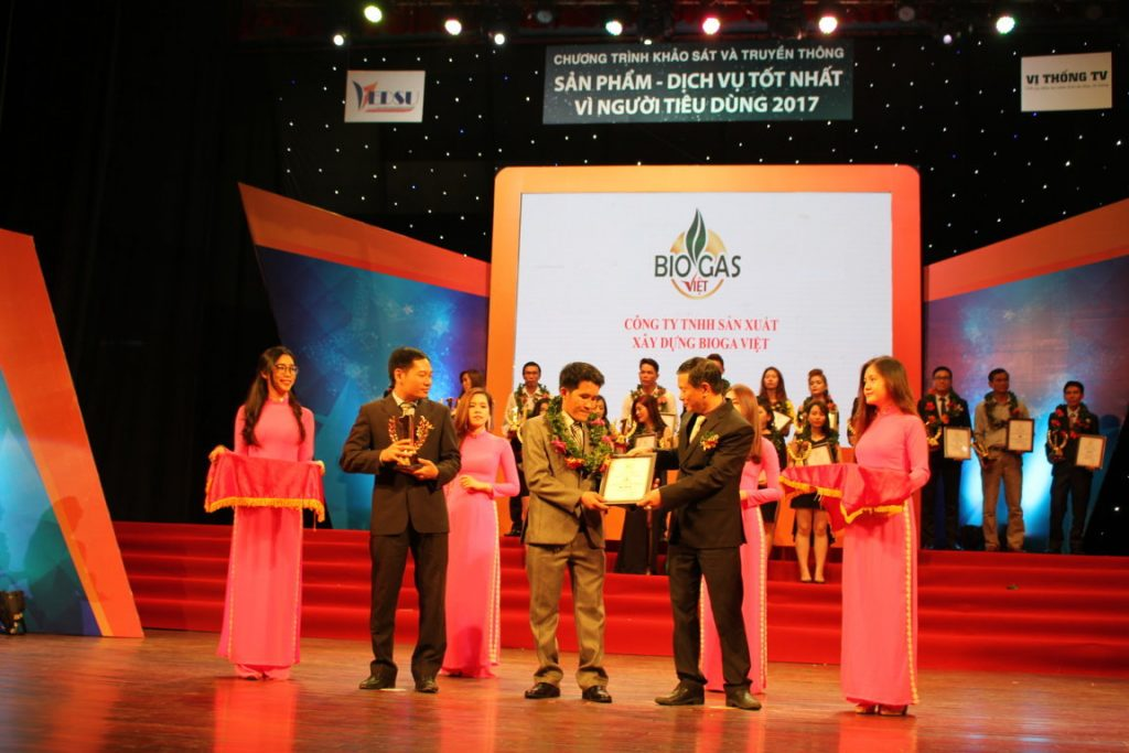 giải thưởng biogas việt