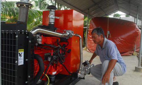 Máy phát điện công suất lớn cho trang trại chăn nuôi