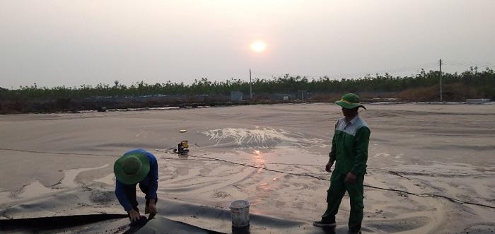 thi công công trình hầm biogas xử lý nước thải