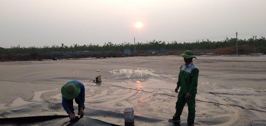 xây dựng hầm biogas hdpe tại biogasviet
