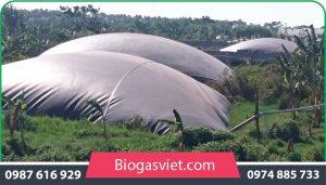 nguyên lý hoạt động của hầm biogas HDPE